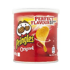Чіпси Pringles Original, класичні, 40г, 12 шт/ящ