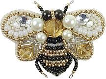"""БП-221 Набор для изготовления броши Crystal Art """"Пчёлка"""", Код товара: 1066176"""
