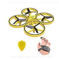 Интерактивный квадрокоптер, дрон 918 управление от руки жестами (Радиоуправляемые игрушки)