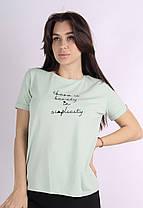 Женская летняя футболка полубатал новинка 2021