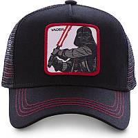 Кепка Бейсболка Тракер з сіткою Goorin Brothers Star Wars Зоряні Війни Vader Дарт Вейдер Чорна