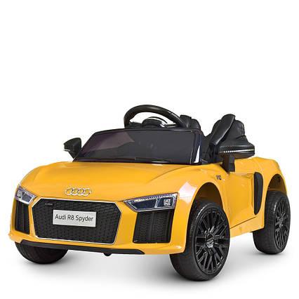 Детский электромобиль Audi M 4281EBLR-6 Желтый
