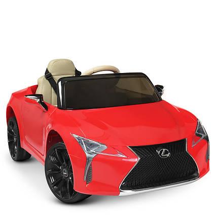 Детский электромобиль Lexus JE1618EBLR-3 Красный