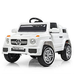 Дитячий електромобіль джип Mercedes M 2788EBLR-1 Білий