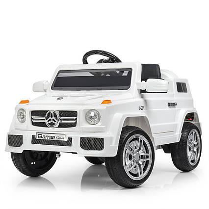 Детский электромобиль джип Mercedes M 2788EBLR-1 Белый