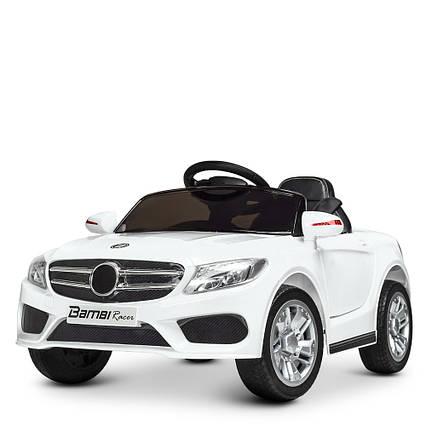 Детский электромобиль Mercedes M 2772EBLR-1 Белый