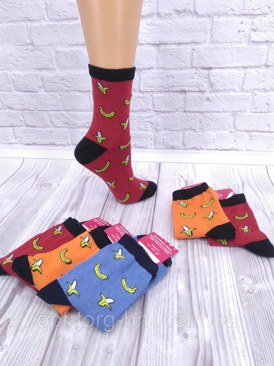Жіночі шкарпетки банани