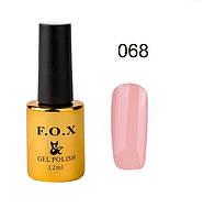 068 F.O.X gel-polish gold Pigment 12 мл