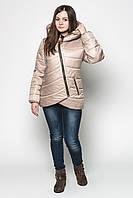 Стильная куртка для девушек шоколад
