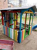 Деревянная песочница Домик Песочницы, качели, декор для сада Изделия из дерева для Вашего дома