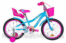 "Дитячий велосипед з кошиком FORMULA ALICIA 18"" (блакитний)"