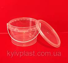 Ведро пластиковое пищевое 0,5 л