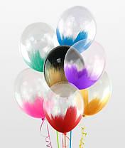 """12"""" (30 см) браш гелиевый шар ( полет 3-7 суток ) гелевый 1 шт."""
