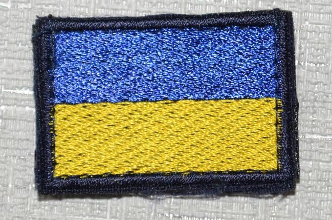 Прапорець ПС України 3*4,5см, фото 2