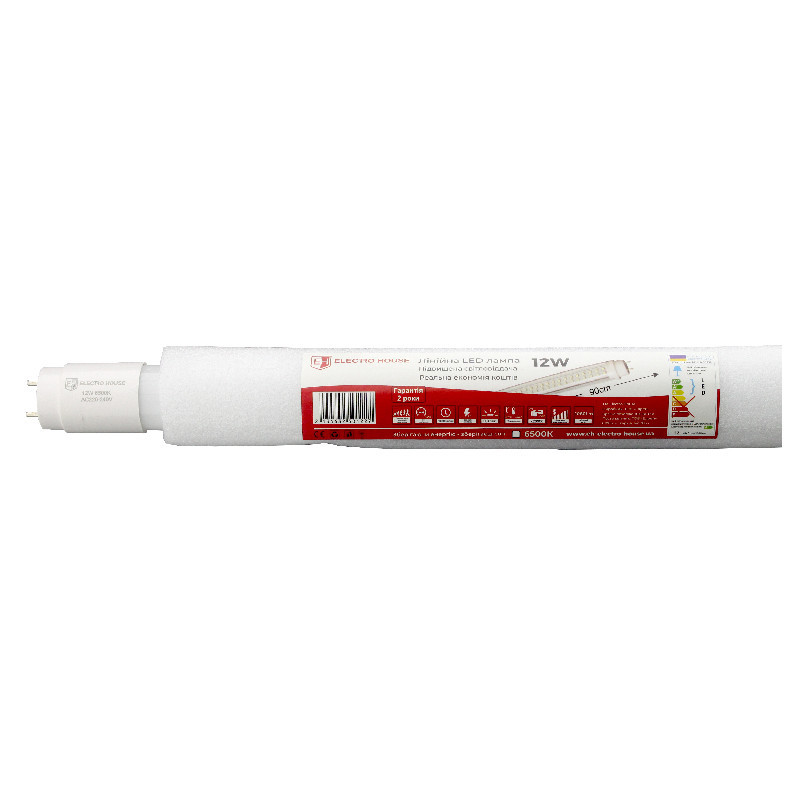 LED лампа T8 90см 6500K / 12W / 1080Lm /210°