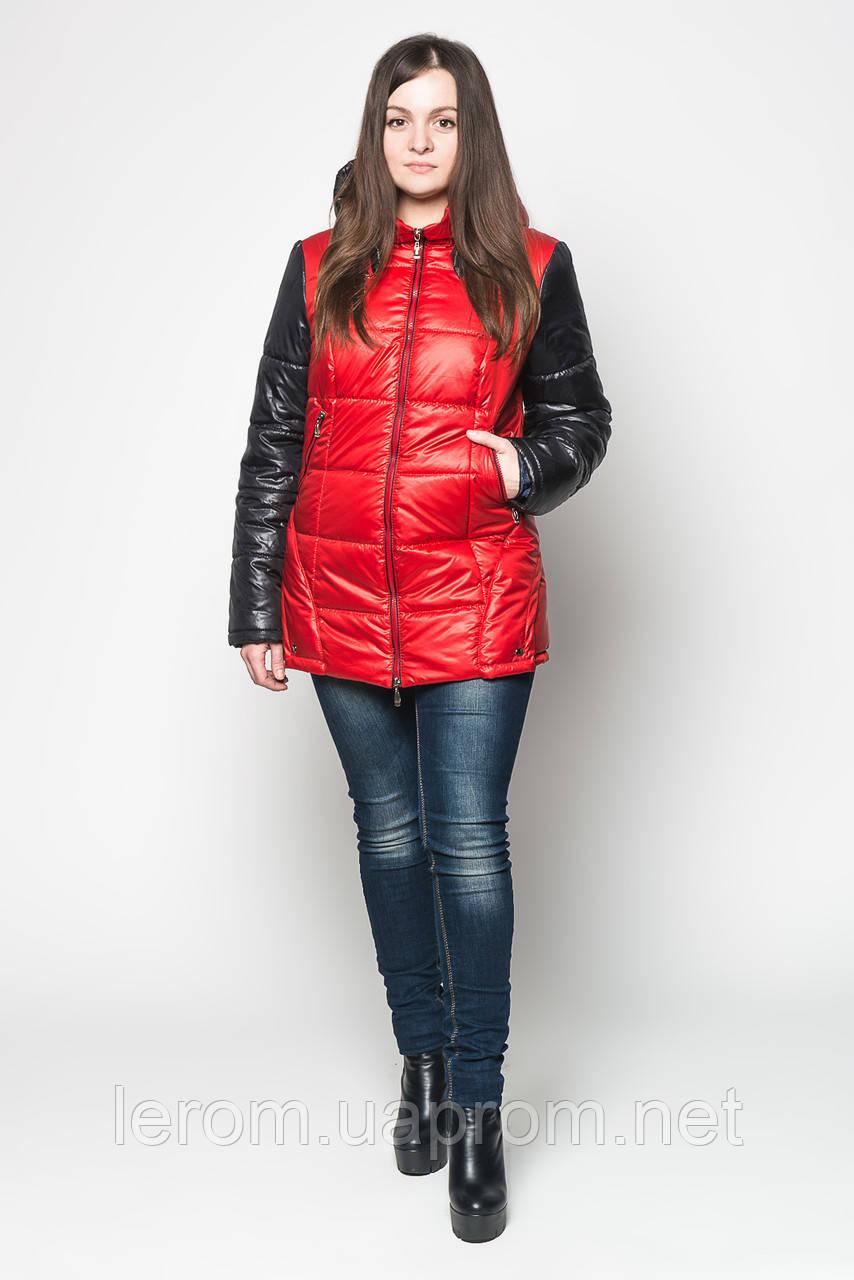 Двухцветная куртка-трансформер для женщин