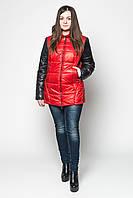 Двухцветная куртка-трансформер для женщин, фото 1
