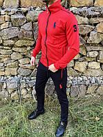 Спортивный костюм Polo 3 красно-черный
