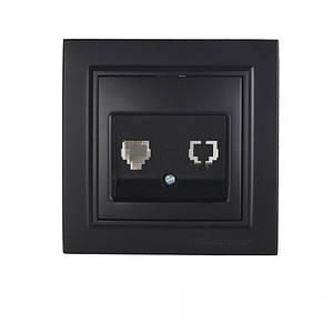 Розетка комп'ютерна 1x8P8C