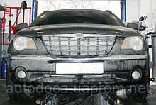Декоративно-защитная сетка радиатора Chrysler Pacifica Limited фальшрадиаторная решетка