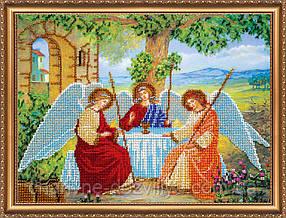 """Набор для вышивания бисером икона """"Святая Троица"""""""