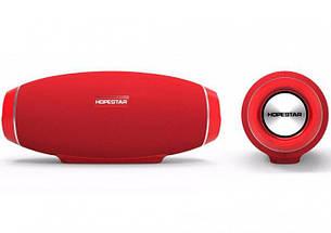 Портативная Bluetooth колонка Hopestar H20, красная, фото 2