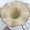 Женская пляжная летняя шляпа Irina brown, фото 2
