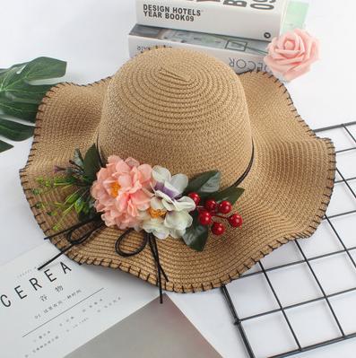 Женская пляжная летняя шляпа Irina brown