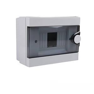 Бокс пластиковый модульный для наружной установки на 2-6 модулей IP20
