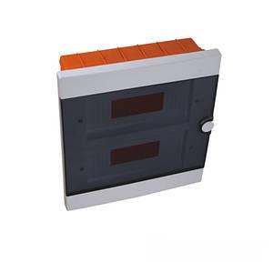 Бокс пластиковый модульный для внутренней установки на 24 модулей IP20