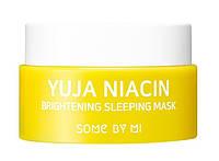 Нічна маска з освітлюючими властивостями BY Some MI Yuja Niacin Brightening Sleeping Mask 15 мл, фото 1