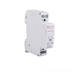 Контактор модульный 25A 230V 2 нормально открытых контакта