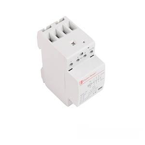 Контактор модульный 25А 230V 4 нормально открытых контакта