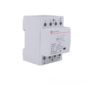 Контактор модульный 40А 230V 4 нормально открытых контакта