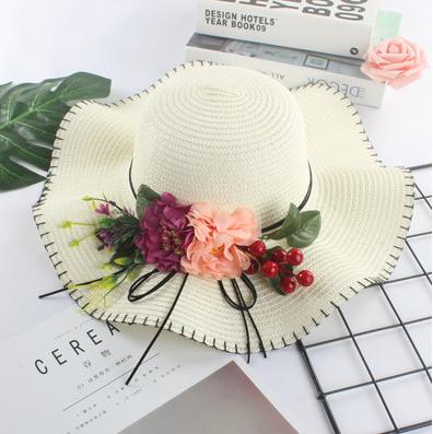 Женская пляжная летняя шляпа Irina white