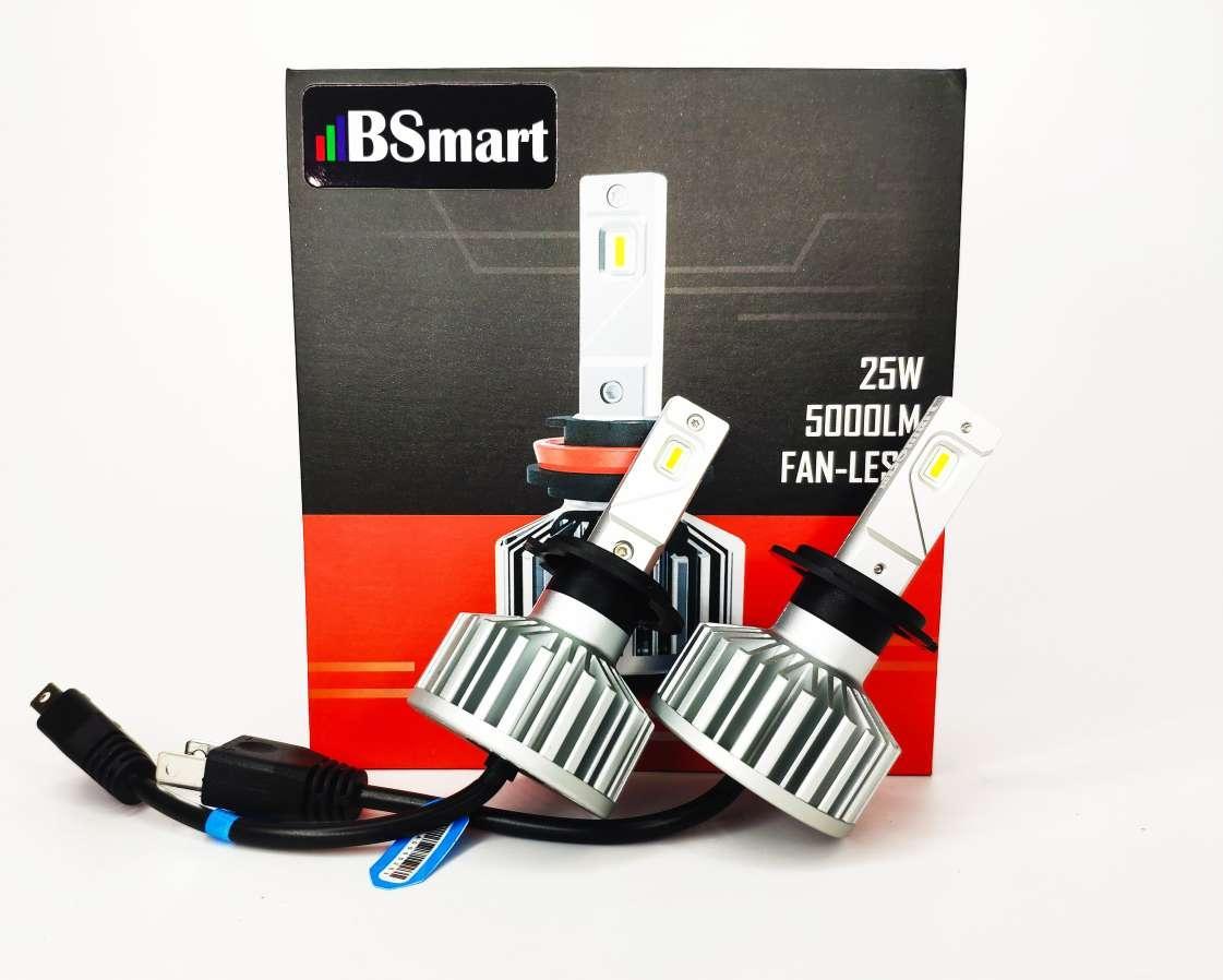 Автолампи LED світлодіодні BSmart S5 H7, 10000 Люмен, 50 Вт, 9-32В