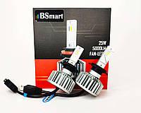 Автолампи LED світлодіодні BSmart S5 H7, 10000 Люмен, 50 Вт, 9-32В, фото 1