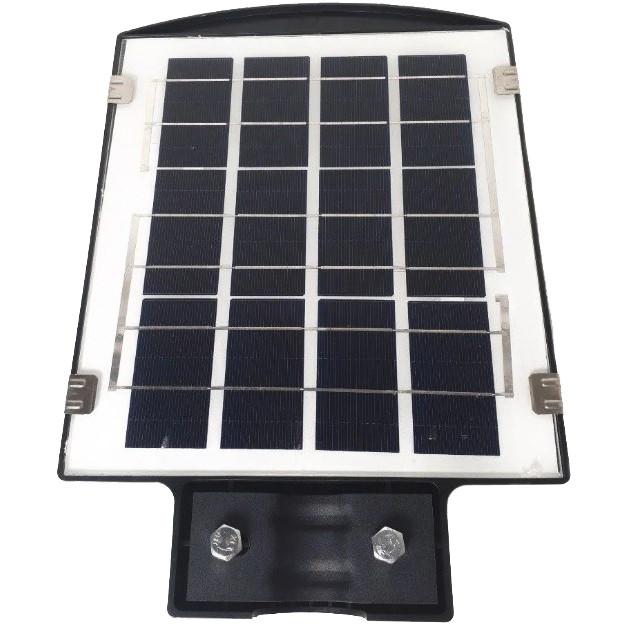 Вуличний ліхтар з пультом UKC 1VPP на стовп, 45W, світлодіодний, з датчиком руху, чорний