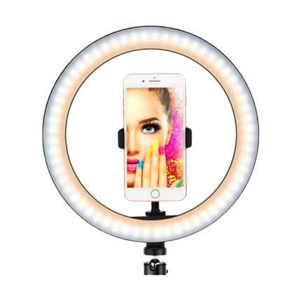 Кільцева лампа для селфи Ring MJ333 LED RGB, USB, 30cm, фото 2