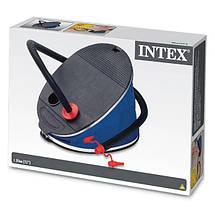 Насос ножной Intex 68610 для надувных кругов, матрасов, фото 3