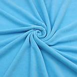 Клаптик велюру х / б бірюзового кольору, розмір 40 * 180 см, фото 2