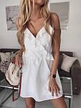 Женское летнее платье с имитацией запаха на бретелях (Норма), фото 6