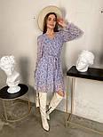 Жіноче трендові весняна сукня в квітковий принт (Норма), фото 6