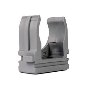 Кріплення для гофротруби Ø 20мм. Ø 6 мм 100шт./уп
