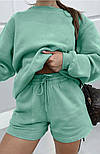 Женский спортивный костюм с шортами и свитшотом (Норма), фото 7
