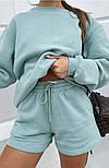 Женский спортивный костюм с шортами и свитшотом (Норма), фото 8