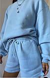 Женский спортивный костюм с шортами и свитшотом (Норма), фото 6