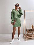 Женское стильное платье-двойка в наборе с кофтой (Норма), фото 4