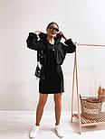 Жіноче стильне плаття-двійка у наборі з кофтою (Норма), фото 7