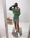 Жіноче стильне плаття-двійка у наборі з кофтою (Норма), фото 9